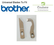 OVERLOCKER KNIFE BLADE SET LOWER & UPPER FITS BROTHER 1034d 929d 925d #U300 F628