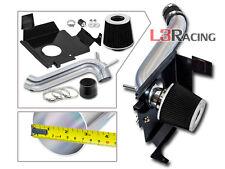 Black Cold Air Intake Kit + Heat Shield For 05-10 Dodge Charger Magnum 3.5L V6