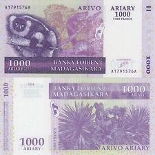 Madagascar 1000 Ariary (ND/2004) - p89a UNC