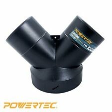 Powertec Dust Collector Y Fitting 6 Inch To 4 Inch Hose Reducer 70189