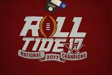 Alabama Crimson Tide 2017 National Championship Nick Saban Sz XL Mens T-Shirt