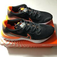 Men's Nike Renew Run Black/Total Orange CK6357 001 Shoes NEW