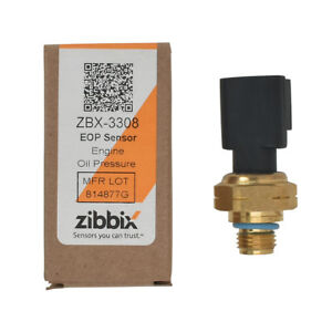 Zibbix EOP Engine Oil Pressure Sensor For Cummins Freightliner Kenworth ISX ISM