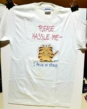Boynton Please Hassle Me Kitty / Cat Tee Shirt / Large / New / Excellent