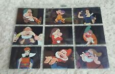 Snow White And The Seven Dwarfs: S2 Trading Card Chase Set F1-F9 (Skybox, 1994)
