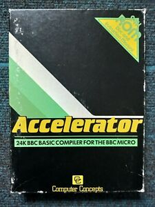 Accelerator by Computer Concept for the BBC Micro Computer, Boxed, ROMs & Manual