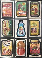 1974 Topps Wacky Packages Original 4th Complete Set HIGH GRADE 30/30 + Puzzle