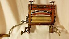 Vintage Cast Iron/Wood American Wringer Co RIVAL 100 Hand Wringer-Original