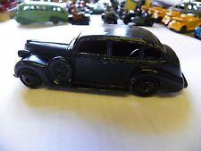 Vintage avant guerre Dinky diecast 1939-50 39d BUICK VICEROY Saloon-repeint Noir