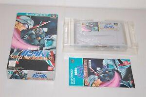 Mobile Suit Gundam Cross Dimension 0079 Japan Nintendo Super Famicom sfc game