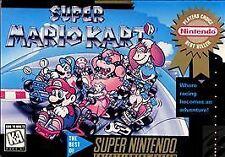 Super Mario Kart Mint Wrapped SNES Game Cartridge