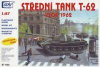 SDV Kunststoff Modellbausatz 1:87 H0 Russischer Panzer T-62 1962