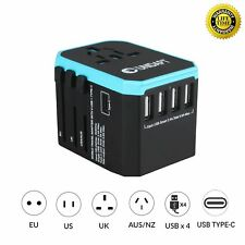 Universal Travel Power Adapter for EU, UK, AU, US Asia