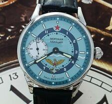 New listing Watch Marriage 3602 Naval Aviation Dress Men's Wristwatch Vintage Style Soviet