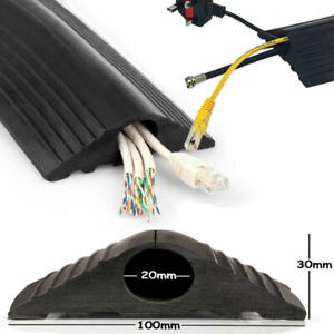 Floor Cable Protector Cover  | Wire trip hazzard | Rubber Heavy Duty Trunking