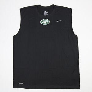 New York Jets Nike Nike Tee Sleeveless Shirt Men's Black New without Tags