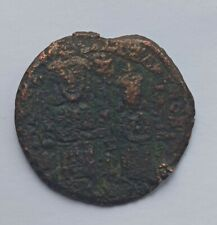 More details for ancient byzantine bronze follis leo the wise and alexander /886-913 ad/