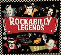 ROCKABILLY LEGENDS (Wanda Jackson, Ray Smith,  Bill Haley) 2 CD NEU