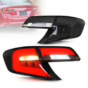 VLAND LED Tail Lights Rear Lights For Toyota Camry 2012 2013 2014 OE Replacement