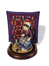 New Listing1993 The Amish Heritage Collection Katie's First Quilt Special Edition Figurine