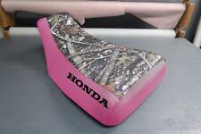 Honda Rubicon 500 2001-04 Logo Camo Top Seat Cover #nw1787mik1786