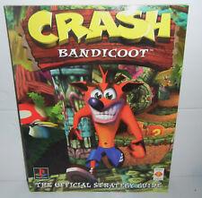 VGC PlayStation 1 PS1 PSX THE ORIGINAL Crash Bandicoot OFFICIAL Strategy Guide