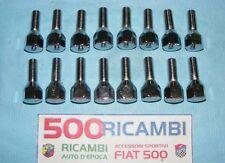 FIAT 500 F/L/R 126 SERIE 16 BULLONI RUOTA CONICI CROMATI PER CERCHI IN LEGA 4CM