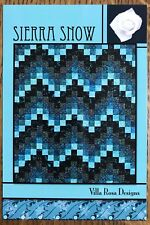 Sierra Snow Quilt Pattern