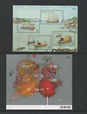 Stamps collection  MINT  Thailand sets 2 miniature sheets  #495