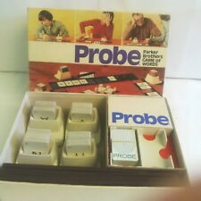 PROBE THE GAME OF WORDS BY PARKER BROTHERS 1974 EDITION - VINTAGE RARE COMPLETE
