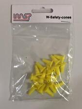 Conos De Seguridad Amarillo 15mm 20 Pack paisaje lateral de pista escala 1:32