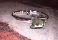 $1495 Ippolita Diamond Bracelet Mother of Pearl Silver Stella Toggle Bracelet