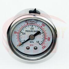 """Universal 1/8"""" NPT Instrument Regulator Meter Fuel Oil Pressure Gauge Max 230PSI"""