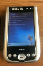 Dell Axim X50 Pocket Pc Handheld Pda Wifi Win Mobile 2003 Se