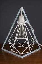 Diamond Geo Bed side table lamp stand original metal light frame pendant support