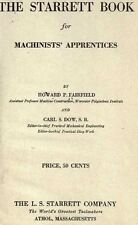 The Starrett Book for Machinists' Apprentices Book on CD Reference for Machinist