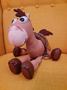 LArge Toy Story Bullseye Plush Toy, Genuine Disney Store Product, Horse, Soft