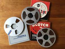 Metal 10.5 inch pro audio tape reel