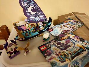 Lego galeone nave barca Elves Elfi 41073 + 41071