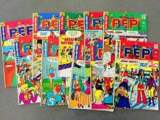 8 Archie Comics Bronze Age PEP Betty Veronica JUGHEAD  (LOT A1)