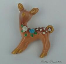 Deer Resin Brooch - Vintage Inspired - Bambi