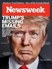 NEWSWEEK MAGAZINE NOVEMBER 11 2016  - DONALD TRUMPS MISSING EMAILS - FREE SHIP!