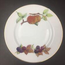 A ROYAL WORCESTER 'EVESHAM  17cm SIDE PLATE dinner Plate Bowl FRUIT