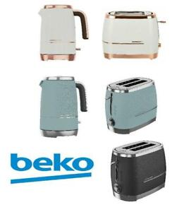 Beko Cosmopolis 2 Slice Toaster and 1.7L Kettle Collection Set