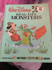 Walt Disney Fun To Learn Library Vol. 6, Real-Life Monsters, Disney Book