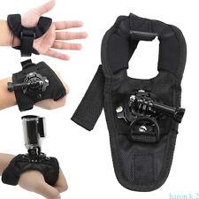360 ° girando la banda de muñeca de mano para cámaras GoPro HD y Hero