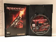 Resident Evil: Outbreak (Sony PlayStation 2 PS2) Rated M Mature COMPLETE