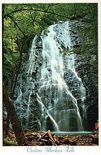 Crabtree Meadows Falls, Blue Ridge, North Carolina NC, Waterfall --- Postcard