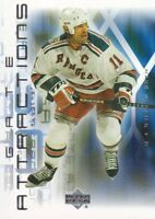 2001-02 Upper Deck Gate Attractions Hockey Cards Pick From List