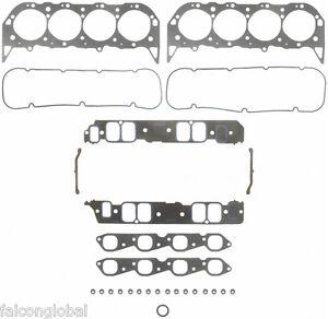 Fel-Pro Marine Head Gasket Set Mercruiser/Chevy 454/7.4 GEN VI w/RECT Intake